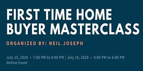 First Time Home Buyer MasterClass tickets