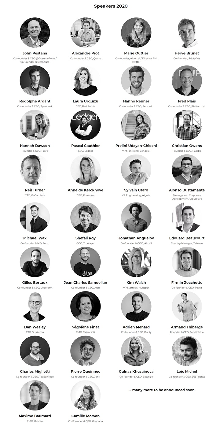 B2B Rocks 2020 - Leading online conference for B2B & SaaS startups image