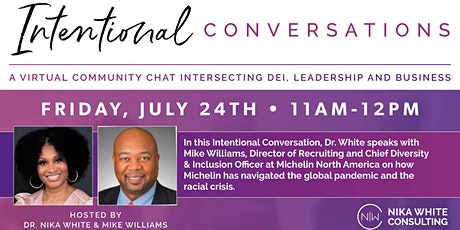 Intentional Conversations: A Virtual Community Chat tickets