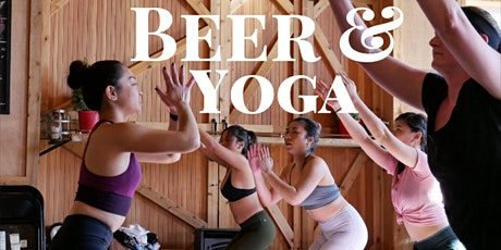 Rooftop Beer and Yoga tickets
