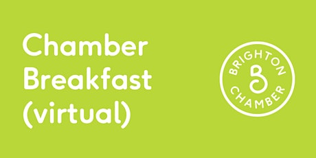 Chamber Breakfast  September (virtual) tickets