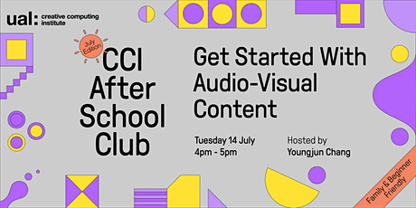 CCI After School Club: Get Started with Audio-visual Content tickets