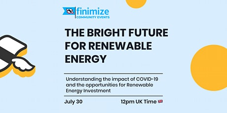 The Bright Future for Renewable Energy tickets