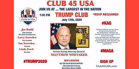 Club 45 USA Meeting - July 13, 2020 tickets