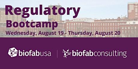 Virtual Regulatory Bootcamp tickets