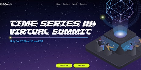 Time Series Virtual Summit tickets