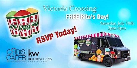 Victoria Crossing FREE Rita's- The Chris and Caleb Team & Bayshore Mortgage tickets