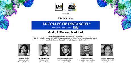 Webinaire #2   Le collectif distanciel ® billets