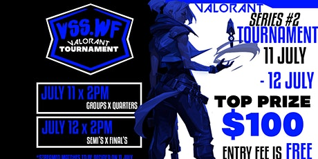 VSS.WF Valorant Tournament Series 2 tickets