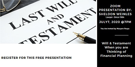 Will & Testament tickets