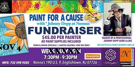Paint For A Cause At Nonnas tickets