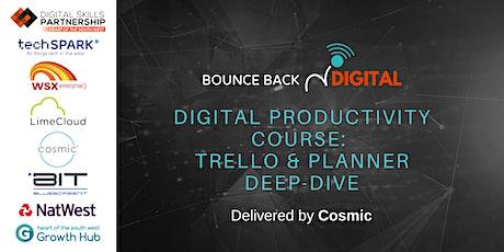 Bounce Back Digital Series: Trello & Planner Deep-Dive tickets