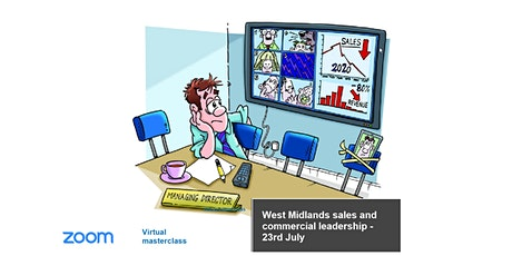 Sales and commercial leadership West Midlands - 23rd July 2020 tickets
