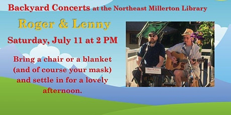 Backyard Concerts with Roger & Lenny tickets