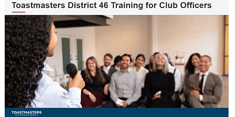 Toastmasters District 46 TLI Training for Club Officers tickets