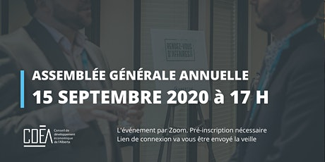 Le CDÉA - Assemblée Générale Annuelle billets