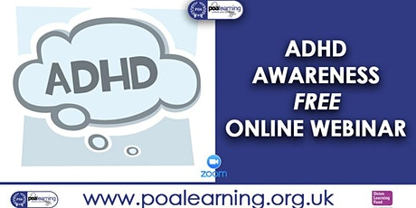 ADHD Awareness tickets