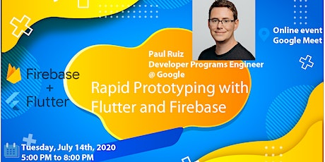 [ONLINE] Rapid Prototyping with Flutter and Firebase entradas