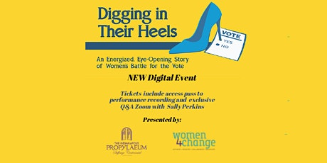 Digging in Their Heels- Digital Recording and Q and A Zoom tickets