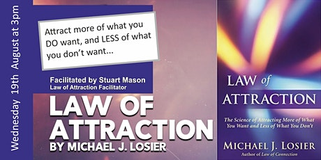 The Law Of Attraction In Business - how to attract more of what you do want tickets