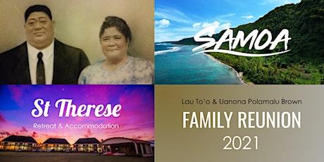 Lau & Uanona To'o Family Reunion tickets