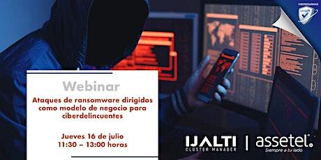 Ataques ransomware dirigidos como modelo de negocio para ciberdelincuentes entradas