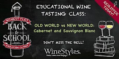Back to School 'Virtual' Wine Education Class tickets