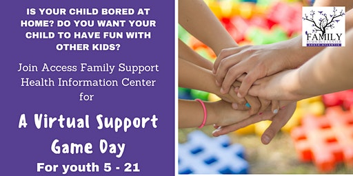 Virtual Support Game Day for Children With Special Needs