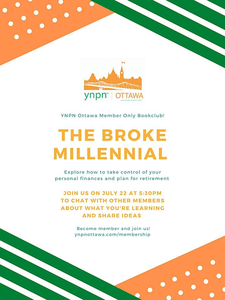 YNPN Ottawa Book Club - The Broke Millennial image