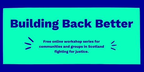 Building Our Movements: online workshop tickets