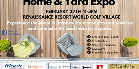 Home & Yard Expo tickets
