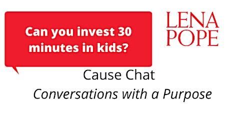 Lena Pope Cause Chat: Preventing Prejudice Begins in Preschool tickets