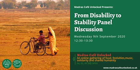 From Disability to Stability  Panel Discussion tickets
