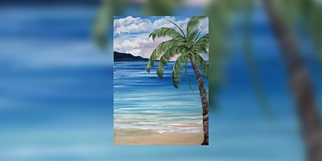 Virtual Paint Night – Sandy Beaches & Palm Trees tickets