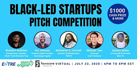 Black-led Startups Pitch Competition tickets