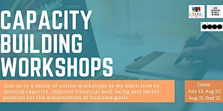 A series of  Capability Building Workshops tickets