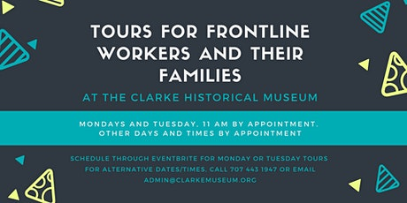 Tours for Frontline Workers at the Clarke Museum tickets