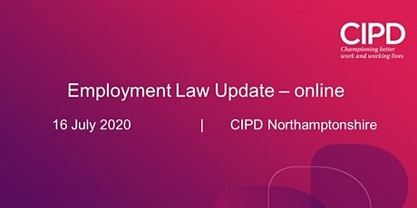Online - Employment Law Update tickets
