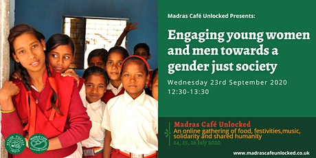 Engaging young women and men towards a gender just society tickets