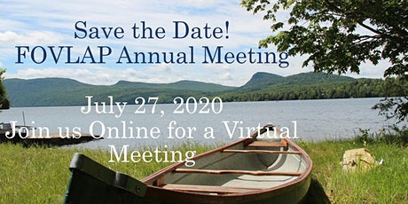 """2020 Annual Meeting ~ """"Your Lake's Watershed is Key"""" tickets"""