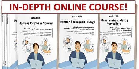 IN-DEPTH 'Applying for jobs in Norway' – 2 x 2 hours online course - Part 1 tickets