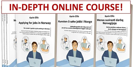 IN-DEPTH 'Applying for jobs in Norway' – 2 x 2 hours online course - Part 2 tickets