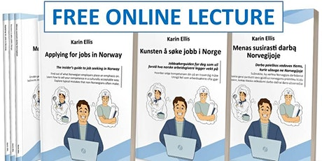 ONLINE LECTURE:  Applying for jobs in Norway tickets