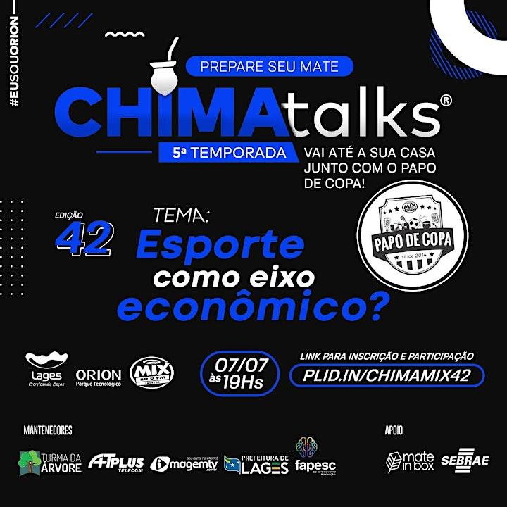 Imagem do evento CHIMAtalks 42 - Esporte como eixo econômico?