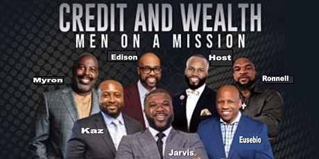 Men on a Mission Master Money Level UP and Create Wealth tickets