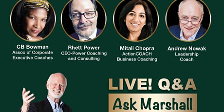 Ask Marshall - Live Q&A with Dr. Marshall Goldsmith tickets