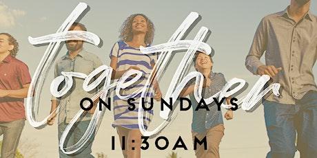 July 26, 2020  Sunday Service tickets