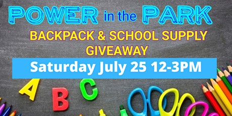 Drive-Thru Giveaway: Free Backpacks, School Supplies tickets