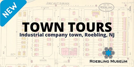 Outdoor walking tour of Roebling, New Jersey tickets