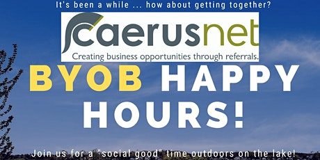 Caerusnet BYOB Happy Hours with Social Good Promotions tickets
